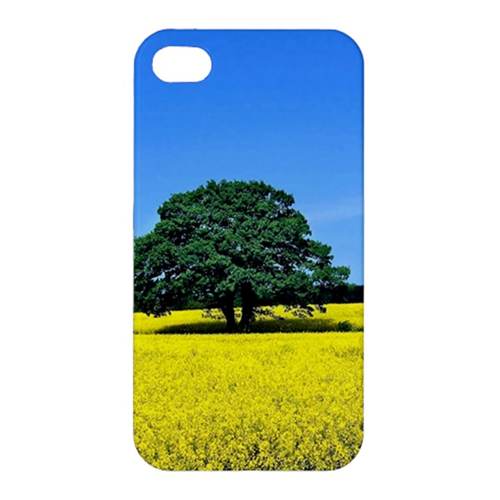 Tree In Field Apple iPhone 4/4S Hardshell Case