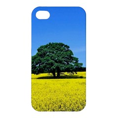 Tree In Field Apple Iphone 4/4s Premium Hardshell Case