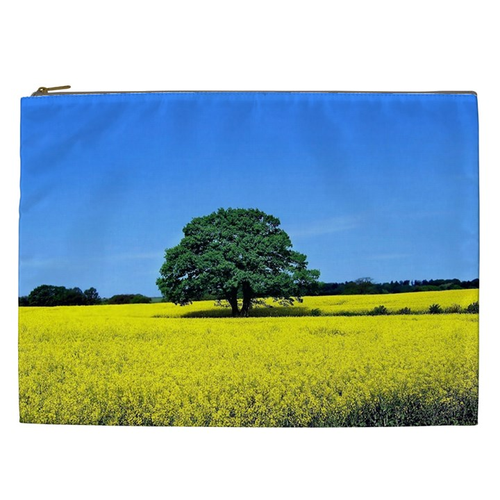 Tree In Field Cosmetic Bag (XXL)