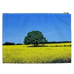 Tree In Field Cosmetic Bag (XXL) Back