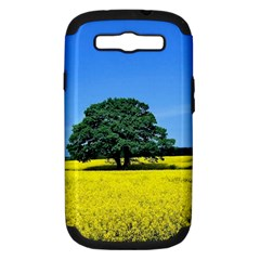 Tree In Field Samsung Galaxy S Iii Hardshell Case (pc+silicone)