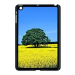Tree In Field Apple iPad Mini Case (Black) Front