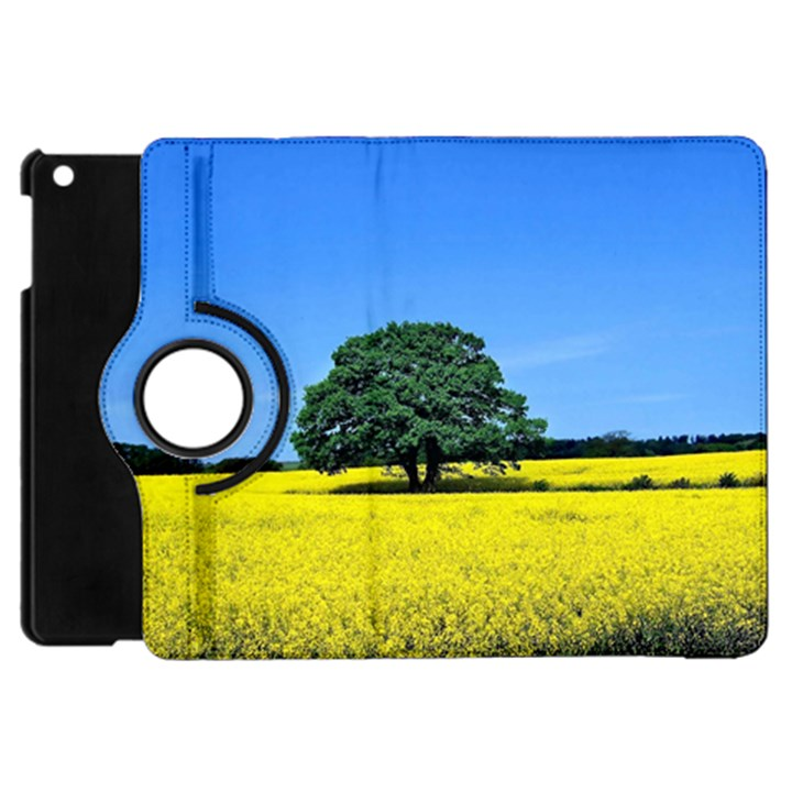 Tree In Field Apple iPad Mini Flip 360 Case