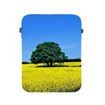 Tree In Field Apple iPad 2/3/4 Protective Soft Cases Front