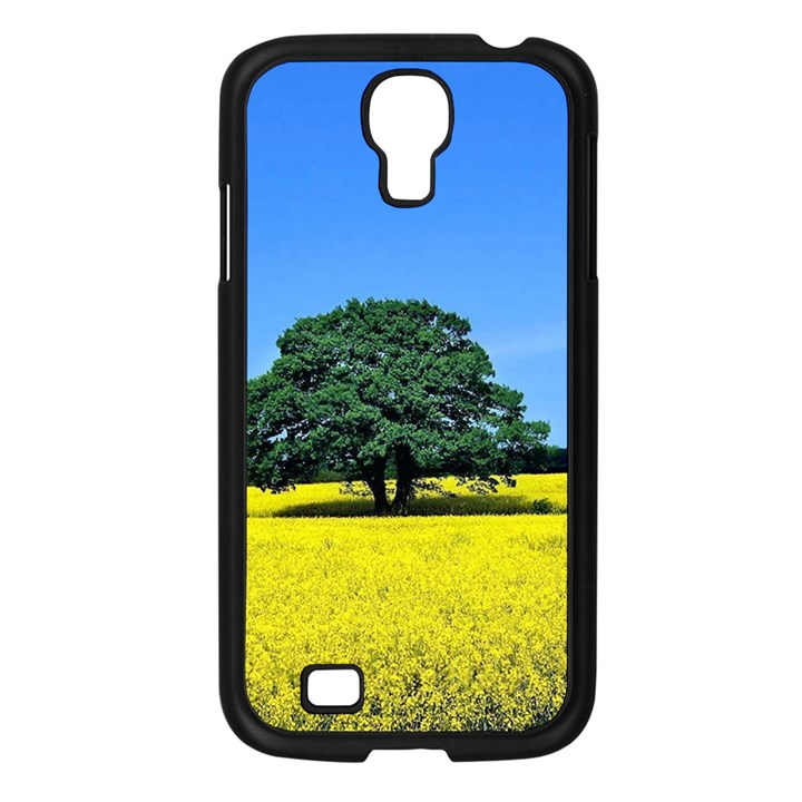 Tree In Field Samsung Galaxy S4 I9500/ I9505 Case (Black)