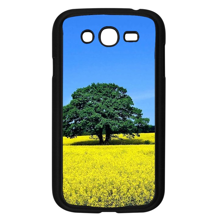 Tree In Field Samsung Galaxy Grand DUOS I9082 Case (Black)