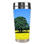 Tree In Field Stainless Steel Travel Tumblers Center