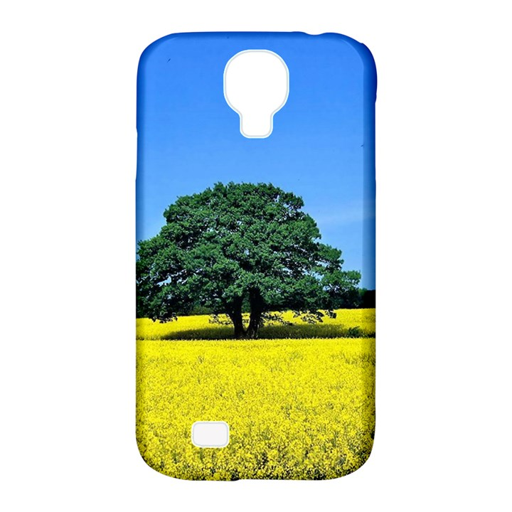 Tree In Field Samsung Galaxy S4 Classic Hardshell Case (PC+Silicone)