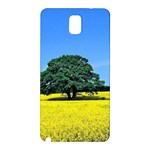 Tree In Field Samsung Galaxy Note 3 N9005 Hardshell Back Case Front