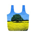 Tree In Field Full Print Recycle Bag (S) Back