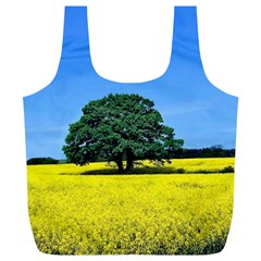 Tree In Field Full Print Recycle Bag (xl)