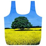 Tree In Field Full Print Recycle Bag (XL) Back