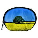 Tree In Field Accessory Pouch (Medium) Front