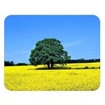 Tree In Field Double Sided Flano Blanket (Large)  80 x60 Blanket Front