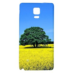 Tree In Field Samsung Note 4 Hardshell Back Case