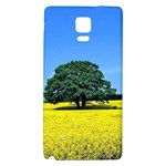 Tree In Field Samsung Note 4 Hardshell Back Case Front