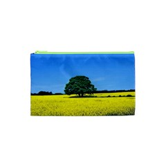 Tree In Field Cosmetic Bag (xs) by Alisyart