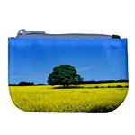 Tree In Field Large Coin Purse Front