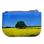 Tree In Field Large Coin Purse Back