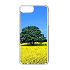 Tree In Field Apple Iphone 7 Plus Seamless Case (white)