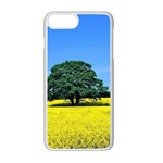 Tree In Field Apple iPhone 7 Plus Seamless Case (White) Front