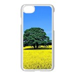 Tree In Field Apple iPhone 7 Seamless Case (White) Front