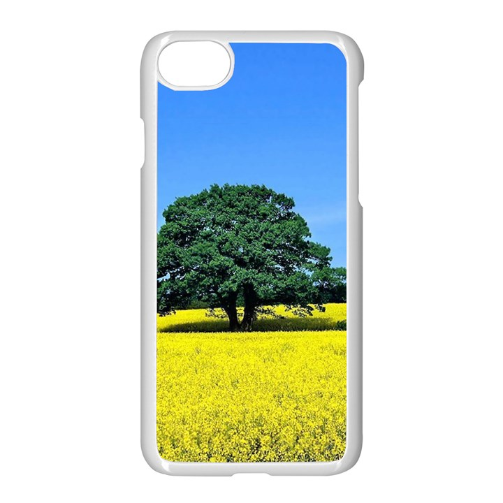 Tree In Field Apple iPhone 7 Seamless Case (White)