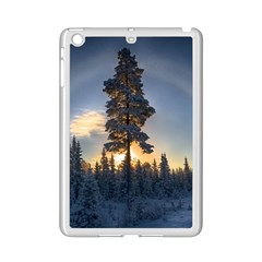 Winter Sunset Pine Tree Ipad Mini 2 Enamel Coated Cases