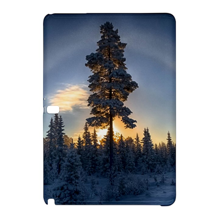 Winter Sunset Pine Tree Samsung Galaxy Tab Pro 12.2 Hardshell Case