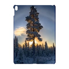 Winter Sunset Pine Tree Apple Ipad Pro 10 5   Hardshell Case
