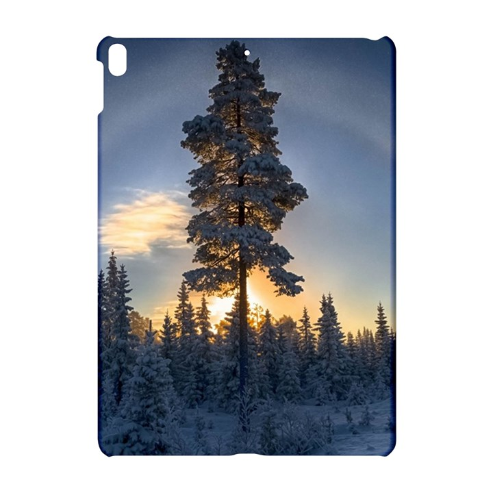 Winter Sunset Pine Tree Apple iPad Pro 10.5   Hardshell Case