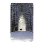 Trees Nature Snow Deer Landscape Winter Memory Card Reader (Rectangular) Front