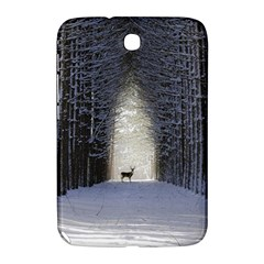 Trees Nature Snow Deer Landscape Winter Samsung Galaxy Note 8 0 N5100 Hardshell Case  by Alisyart