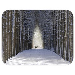 Trees Nature Snow Deer Landscape Winter Full Print Lunch Bag