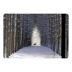 Trees Nature Snow Deer Landscape Winter Apple Ipad 9 7 by Alisyart