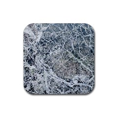 Marble Pattern Rubber Square Coaster (4 Pack)  by Alisyart