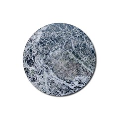 Marble Pattern Rubber Coaster (round)  by Alisyart