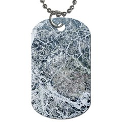 Marble Pattern Dog Tag (one Side)