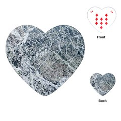 Marble Pattern Playing Cards (heart)