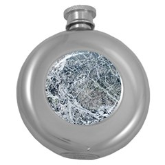 Marble Pattern Round Hip Flask (5 Oz) by Alisyart