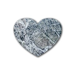 Marble Pattern Heart Coaster (4 Pack)