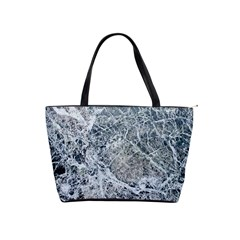Marble Pattern Classic Shoulder Handbag