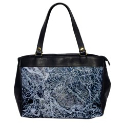 Marble Pattern Oversize Office Handbag