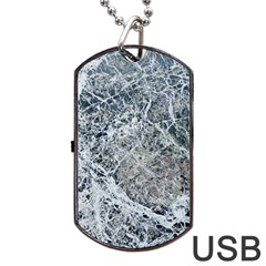 Marble Pattern Dog Tag Usb Flash (two Sides)