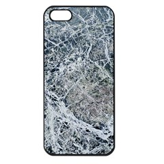 Marble Pattern Apple Iphone 5 Seamless Case (black)
