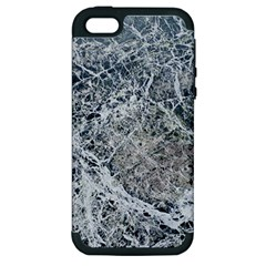 Marble Pattern Apple Iphone 5 Hardshell Case (pc+silicone)