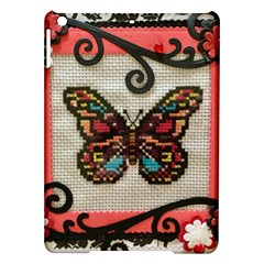 Cross Stitch Butterfly Ipad Air Hardshell Cases
