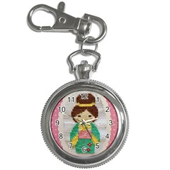 Cross Stitch Kimono Key Chain Watches
