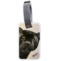 Panther Luggage Tag (one Side)
