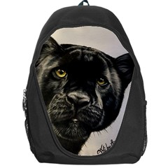 Panther Backpack Bag by ArtByThree